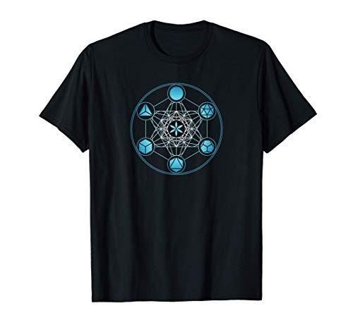 Cube de Metatron, Géométrie Sacrée, Solides Platoniques T-Shirt