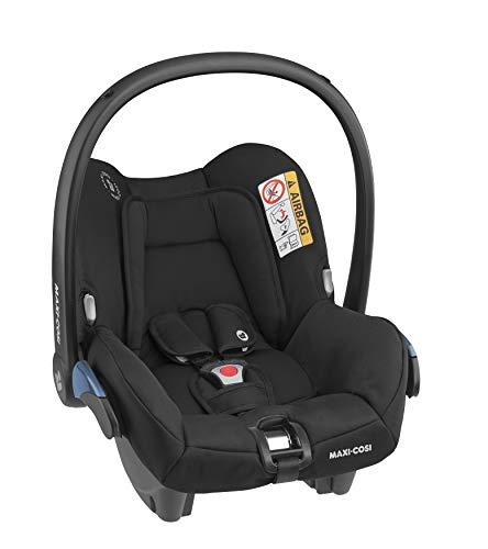 Maxi-Cosi Citi Group 0+ Babyschale, ultraleicht, 0-12 Monate, Essential Black