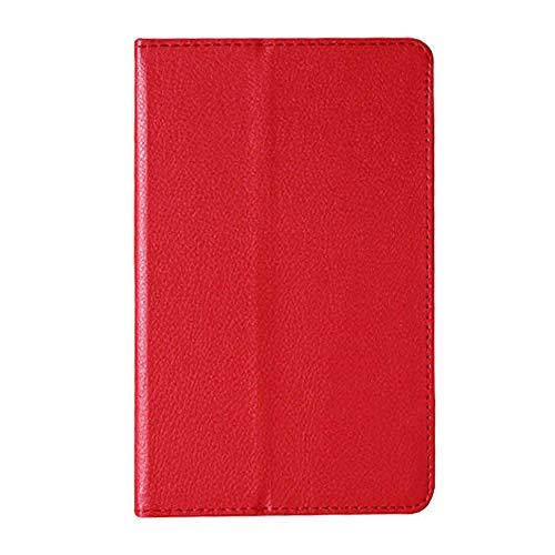 Für Tablet-Hülle Für Lenovo A8-50 A5500 Schutzhülle Folio PU Ledertasche Abdeckung Für Lenovo IdeaTab A8-50 A5500 8-Zoll-Tablet-rot