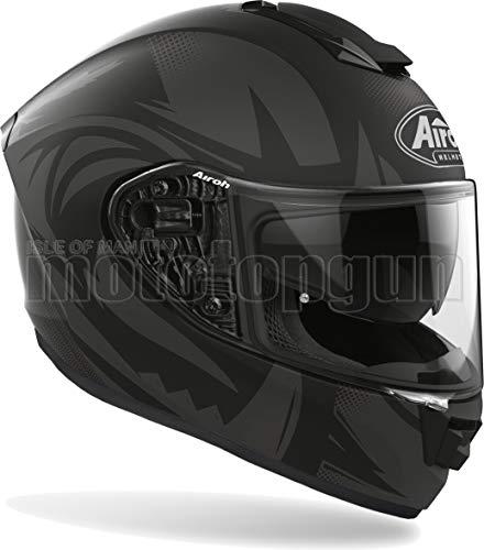 Airoh ST.5S35 Motorradhelm Integralhelm schwarz matt ST.501 SPEKTRO Größe M