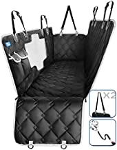STALEX Dog Car Seat Cover - Waterproof Back Seat Dog Cover for Car - Non-Slip Scratchproof Dog Hammock - Quilted Car Seat Covers for Dogs - Pet Seat Cover with Mesh Window for SUV's and Truck's