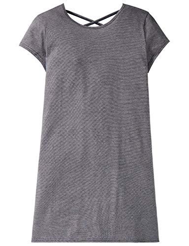 Schiesser Mädchen Sleepshirt 1/2 Nachthemd, Blau (Blau 800), 140 (Herstellergröße: XS)