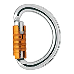 INTENDED USE: The OMNI carabiner's half-moon shape is used to close harnesses with two attachment points. SIZE AND STRENGTH: This midsized carabiner (22 mm gate) is designed to be loaded on all three axes and has a strength of 15 kN. EASY TO USE: The...