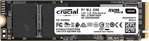 Crucial P1 500GB CT500P1SSD8 Unidad interna de estado...