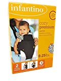 Best Infantino Baby Carriers - Infantino Cozy Premium 8-25lbs Baby Carrier, Blue Review