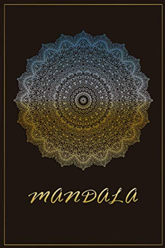 Mandala Classic Journal: Yoga Journal Notebook - Mandala Classic Meditation Journal, Inspirational to Find your Connection (6x9 blank lined notebook, 110 pages) perfect as a yoga teacher and gift.