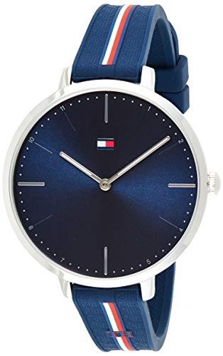 Tommy Hilfiger Reloj Analógico para Mujer de Cuarzo con Correa en Silicona 1782154