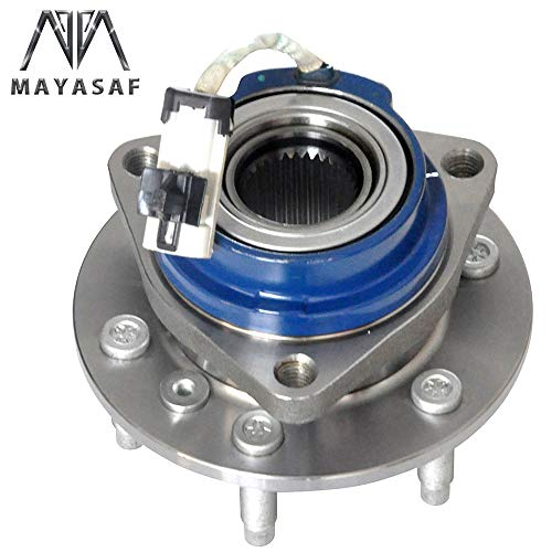 MAYASAF 513236 New Front Wheel Hub Bearing Assembly 6 Lugs w/ABS Replacement for 06-07 Buick Terraza, 06-09 Chevrolet Uplander, 06-09 Pontiac Montana SV6, 06-07 Saturn Relay