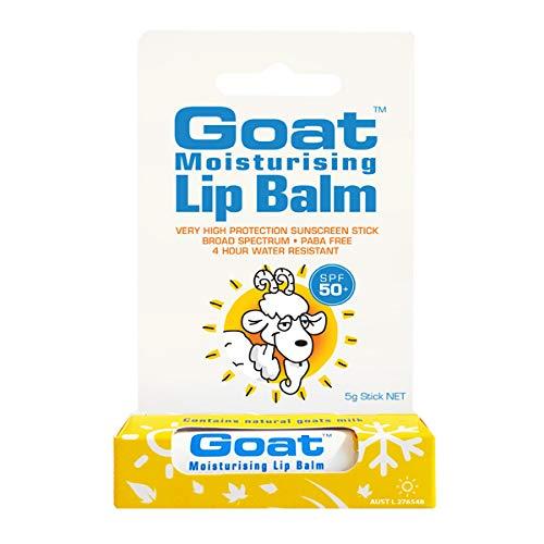 Goat Moisturising Lip Balm SPF 50 Plus, 5 g