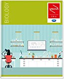 Navneet Youva   Hard Bound   Biology Practical Book   21.5x26.5 cm   1 Side Ruled & 1 Side Plain   176 Pages