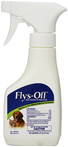 Flys-Off Insect Repellent for Dogs & Cats, 6 fl oz