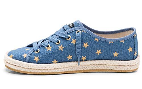 CHIMMY CHURRY - Zapatillas para mujer, azul (estrella), 41 EU