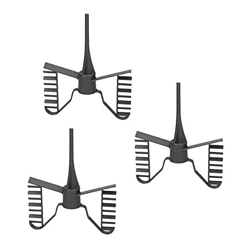 Didad 3PZ Attacco per Mescolare Frusta A Farfalla Robot da Cucina per Vorwerk Bimby TM21 TM 21