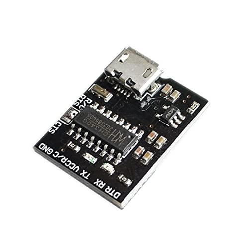 GzxLaY CH340G CH340 Breakout 5V 3.3V USB a Interruptor de módulo Serial para arduino downloader Pro Mini