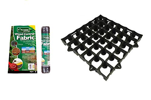 10ft x 8ft Shed Base Kit DBP Firmground39 & Weed Control Fabric