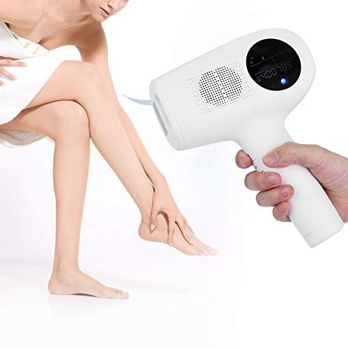 Qinlorgo IPL Haarentfernung, elektrische IPL Haarentfernungsmaschine Schmerzloser Epilierer Körperhaarentferner(EU)