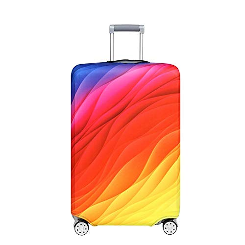 Why Choose Vaskey 1Pcs Elastic Washable Luggage Protector Case Suitcase Protective Cover with Zipper...