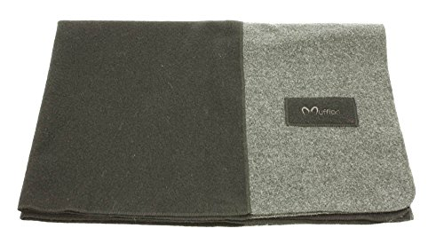 Mufflon Mu-Blanket, 200x140cm, Black/Anthracite S1-S10