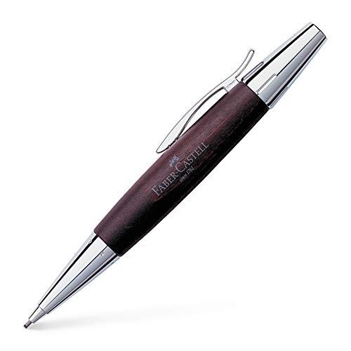ファーバーカステル シャープペンシル エモーション ウッド&クローム 梨の木 ダークブラウン 138381 1.4mm 正規輸入品