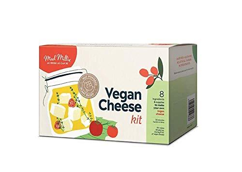 Kit de queso vegano Bevie Mad Millie, sin lácteos ni gluten, 0,1 kg