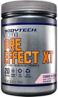 PreEffect XT Preworkout Formula for Dynamic Energy, Deep Focus Boost Endurance Strawberry Watermelon (15.7 Ounces Powder)