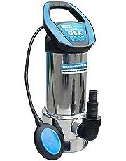 Güde 94604 vuilwaterdompelpomp GSX 1101 (met variabel instelbare vlotterschakelaar, roestvrijstalen mantel, debiet 19000 l/h)