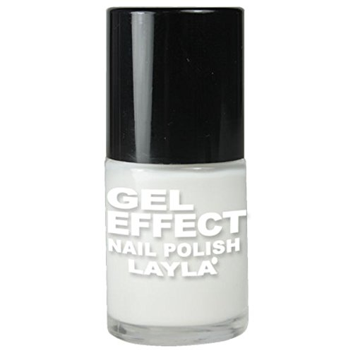 Layla Cosmetics Milano Gel Effect Vernis à Ongles Purity 10 ml