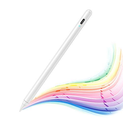 MPIO Stylus Pen 2nd mit Palm Rejection für iPad 2018-2020 Verbesserte Feine Stiftspitze, Kratzbildschirm, Hochpräziser Stift für iPad (6. /7.)/Air (3.)/Mini (5.)/Pro 11(1./2.)/12.9(3./4. Gen)