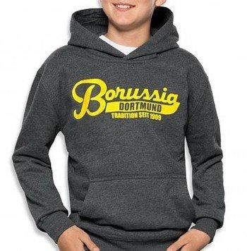 Borussia Dortmund BVB Kinder Kapuzen-Sweat-Shirt (176)
