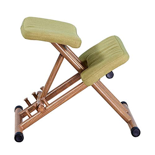 LLNN Lifting Adjustable Mobile Office Kneeling Chair Perfect for Ease Neck, Spine and Back Problems The Best Gift for Children