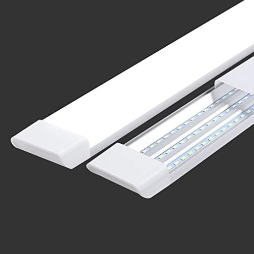 led直管蛍光灯 ledベースライト 器具一体型 40w 120cm 超高輝度LED蛍光灯 天井照明 80W形 3列チップ 3灯相当 学校 倉庫 仕事場 工事用ライト (1本)