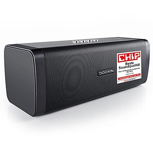 DOCKIN® D FINE Bluetooth Lautsprecher -...
