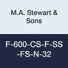 M Stewart Sons F 600 CS F SS FS N 32 Flanged