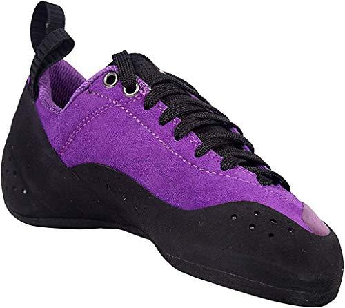 Climb X Crush Lace NLV - Purple - 2020 Women's Rock Climbing/Bouldering Shoe (Numeric_9_Point_5)