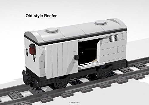 4-Wheel old-style Reefer: Lego MOC building instructions (English Edition)