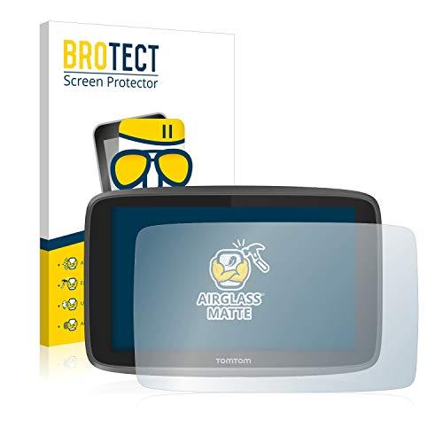 BROTECT Protector Pantalla Cristal Mate Compatible con Tomtom Go 6200 Protector Pantalla Anti-Reflejos Vidrio, AirGlass