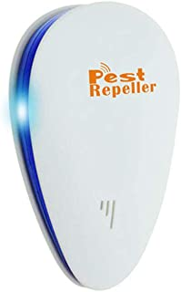 Ultrasonic Pest Expeller, 4 Mounted, 2020 Upgrade Section for Insects, Rodents, Ants, Mosquitoes, Spiders, Etc. for Childr...