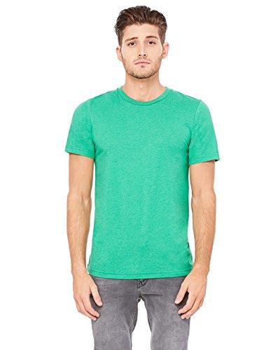 Bella + Canvas 3001C Unisex Jersey Short-Sleeve T-Shirt - Heather Kelly - S
