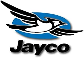 Jayco Rv Trailer Camper Vinyl Graphic Vinyl Decal StickerCar Decal Bumper Sticker for Use on Laptops Windows Scrapbook Luggage Lockers Cars Trucks