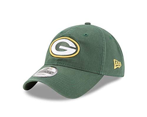 New Era Green Bay Packers 9TWENTY Core Green One Size Fits All