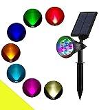 Chao Zan Foco Solar colores Impermeable Luces Solares LED Luz...