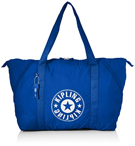 Kipling Damen Totepack Tornistertasche Blau (Laserblue Light)