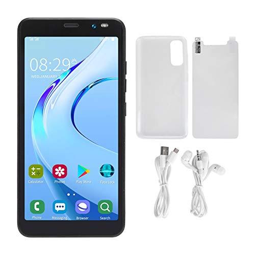 Jacksing Teléfono Inteligente con cámara HD, para Android 2200Mah Batería de Litio Soporte 128Gb Extensión 3G 5.45in Teléfono Inteligente, Hogar para Regalo Hombre Mujer(Black, 12)