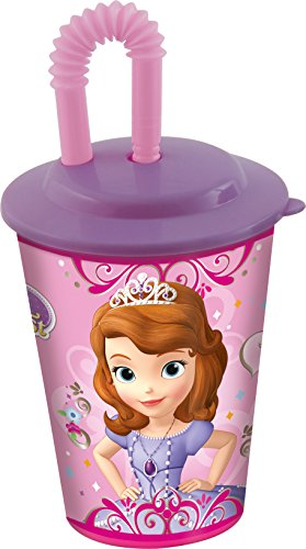 Stor 49123 – Verre de Canne pour jus de Fruits – Sofia The First