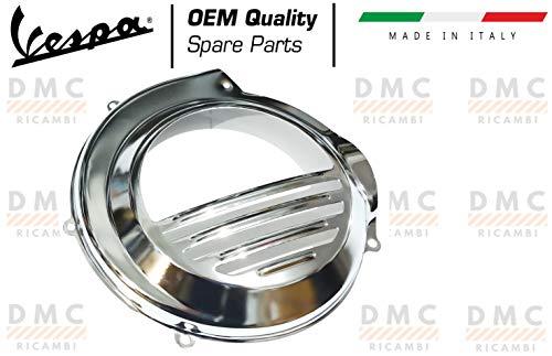Tapa del ventilador cubrevolante cromada Vespa PX 125-150-200 - Vespa Arcobaleno