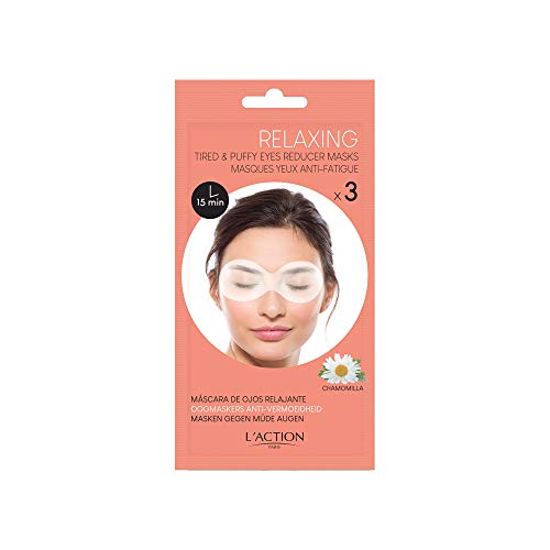 L'Action Paris Tired and puffy eyes reducer masks