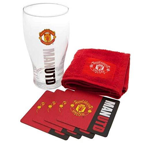 MUFC Mug Officiel Manchester United en c/éramique avec Inscription en Anglais /« Football Crest /» Article en bo/îte