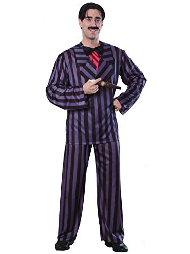 Rubie's Men's The Addams Family, Gomez Adams Adult Costume, Black, Standard