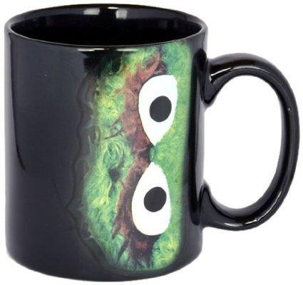 Taza de cerámica taza de café de Barrio Sésamo Oscar taza I Love trash! Amarillo Street