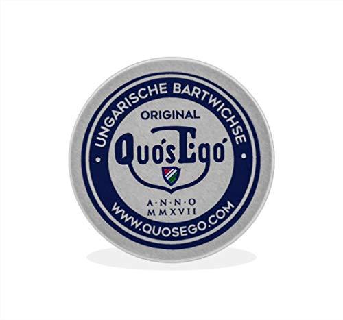 Quos Ego Ungarische Bartwichse, Bartwachs zum Stylen und Zwirbeln vom Schnurrbart 25ml